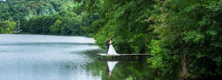 Hochzeitsfotograf St. Ingbert - Hochzeitsbilder am See